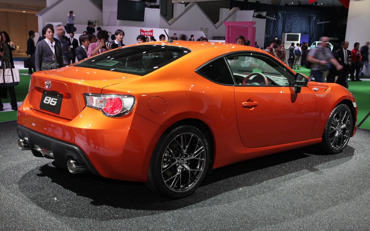 toyota gt 86 2011 tokyo motor show automobile magazine. Black Bedroom Furniture Sets. Home Design Ideas