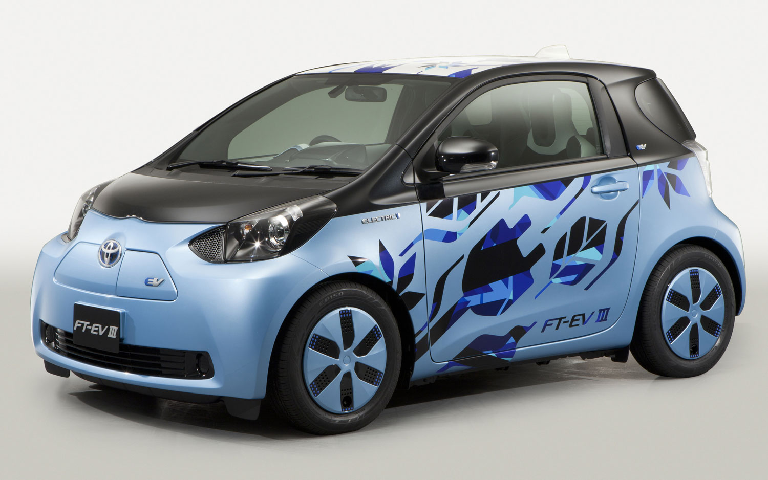 Toyota FT EV III Concept Front View1