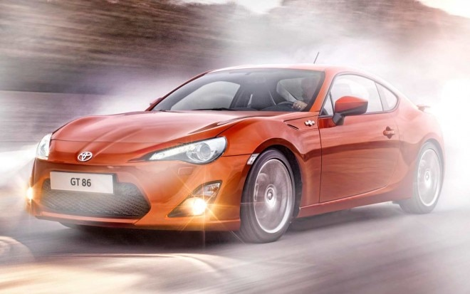 Toyota GT 86 Front Three Quarter Motion11 660x413