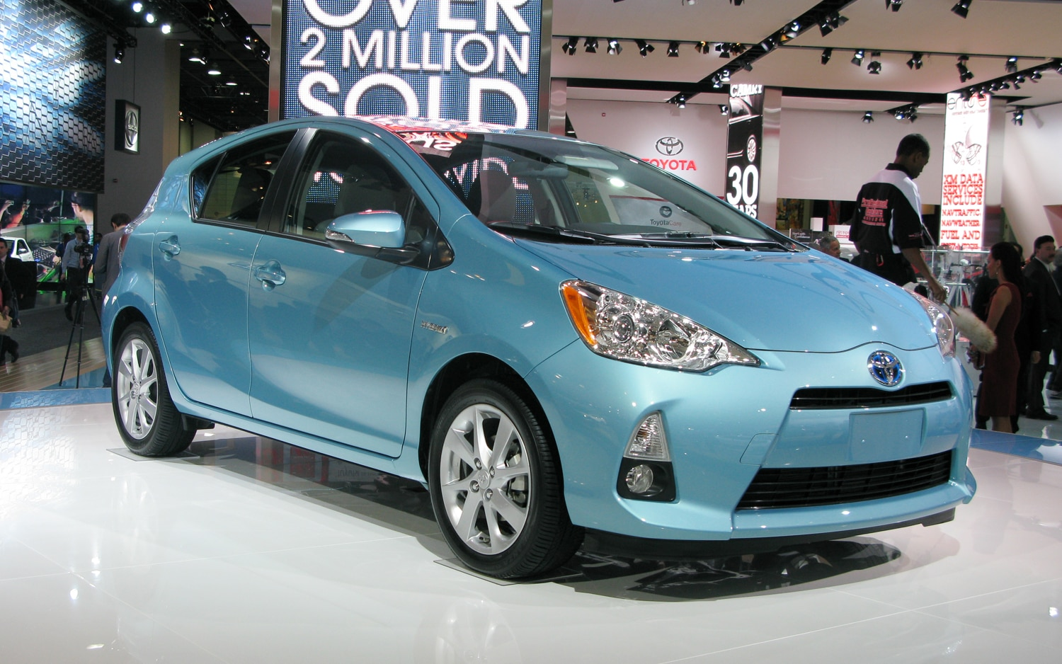 2012 toyota prius c first look automobile magazine. Black Bedroom Furniture Sets. Home Design Ideas