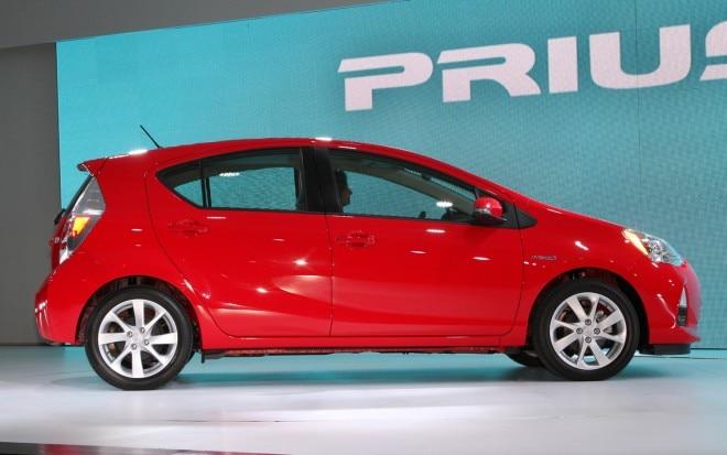 Toyota Prius C Side