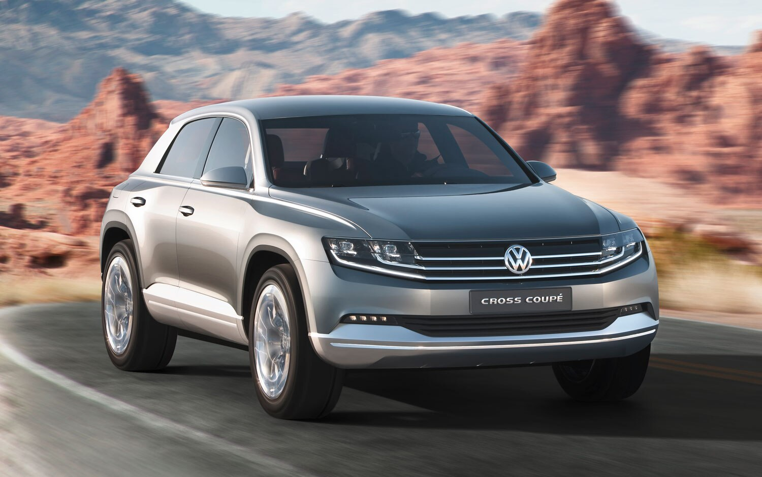 Volkswagen Cross Coupe Concept Front Left Angle1