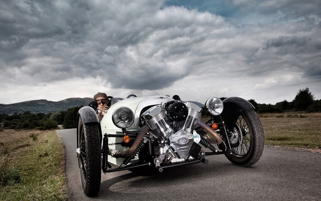 Morgan 3 Wheeler Front View1 660x413