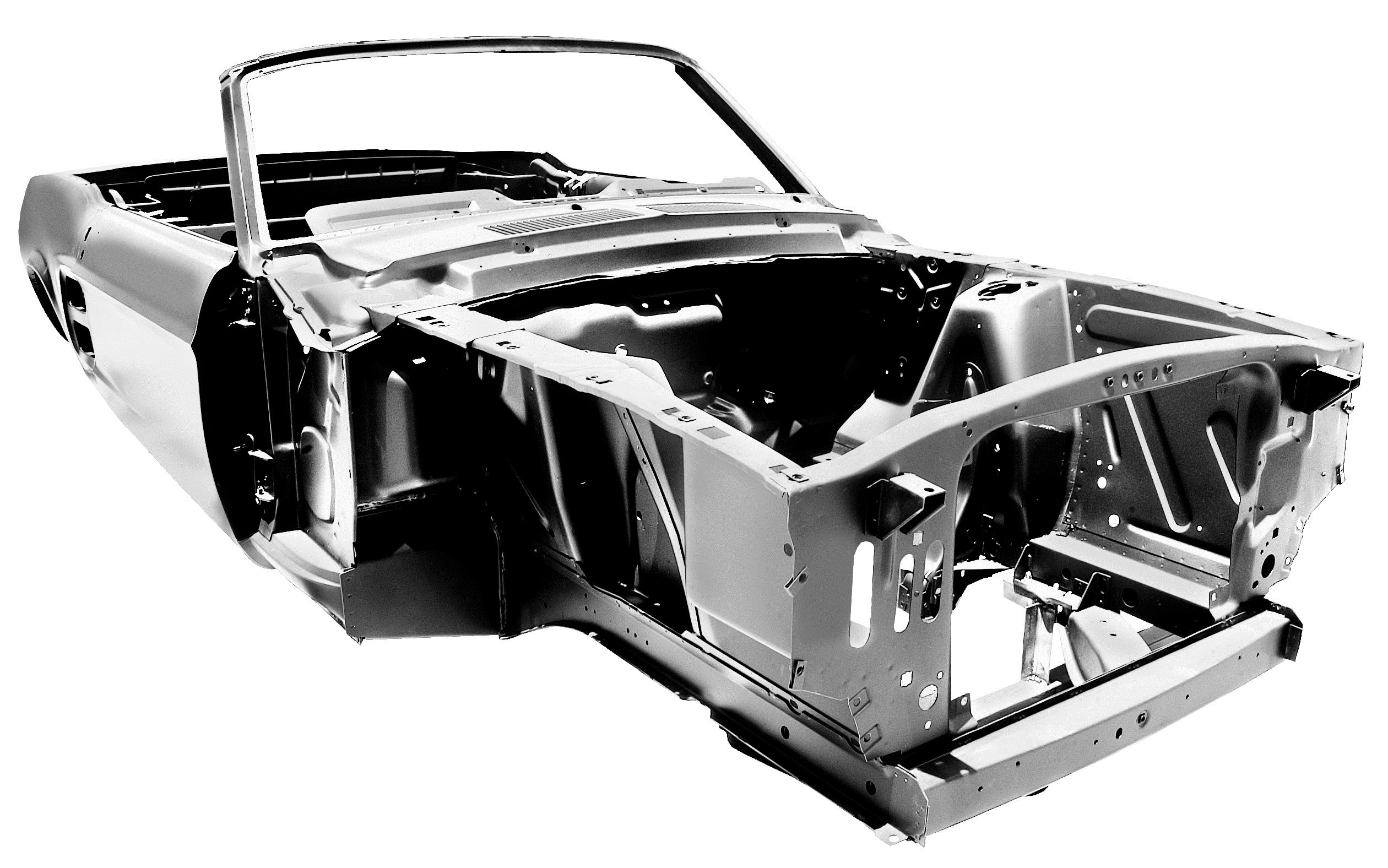 All New 1967 Ford Mustang Convertible Body to Start at $15 995