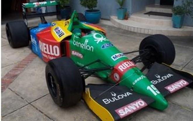 1989 Benetton Formula 1 Driveway1 660x413