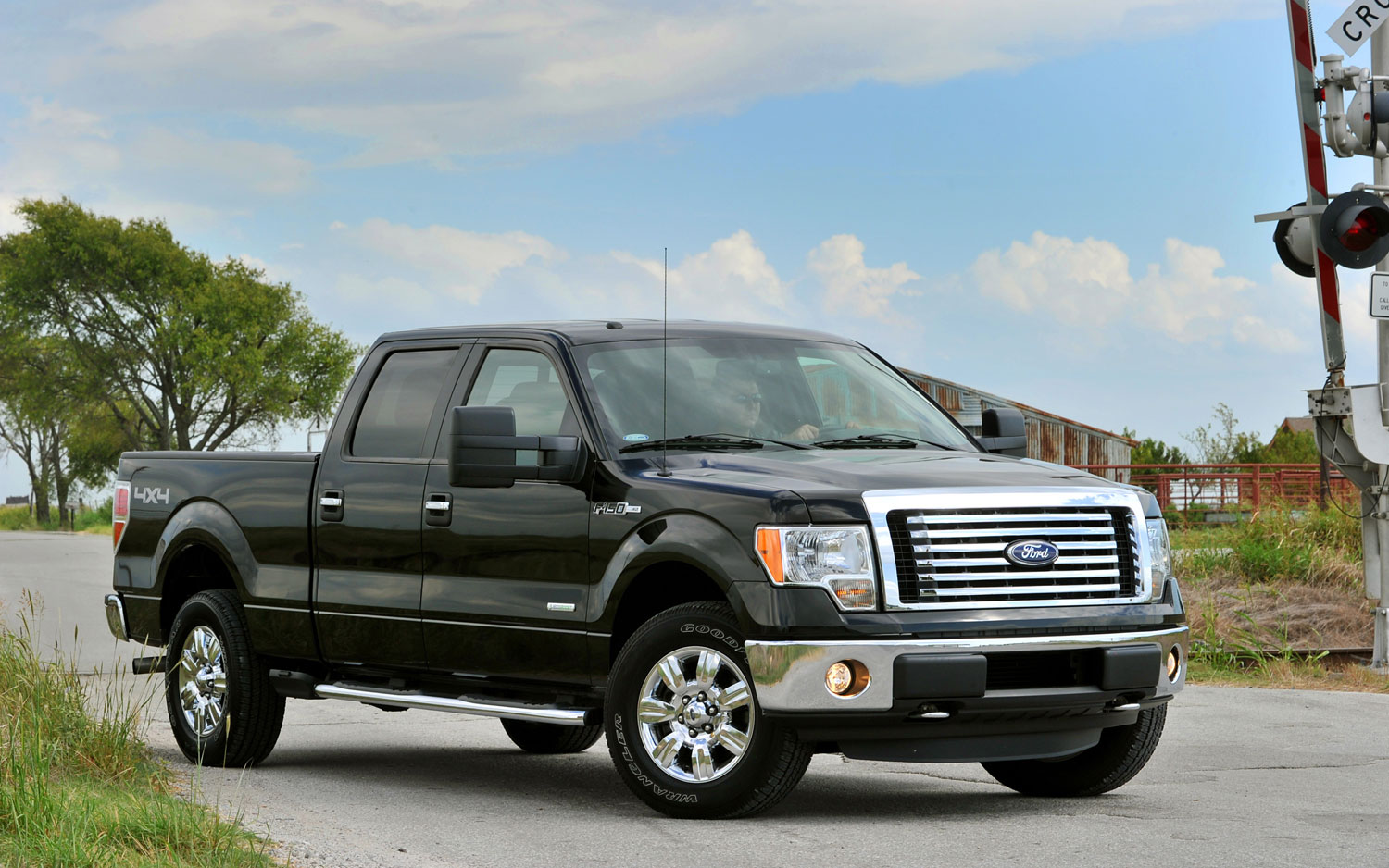 2011 Ford F 150 EcoBoost Right Front Three Quarter Shot1