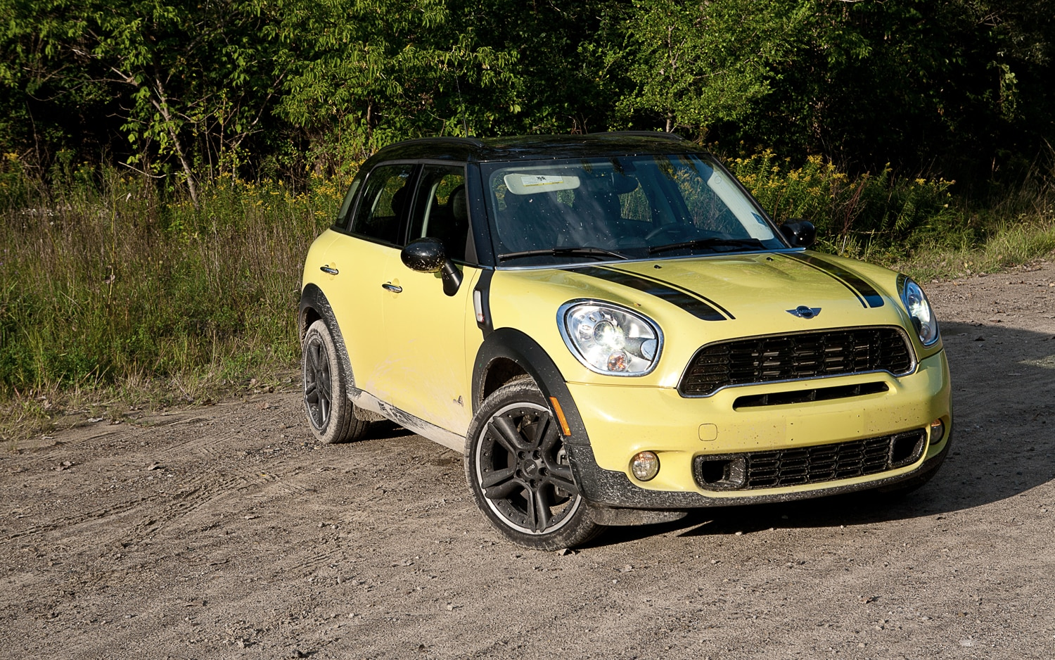 2011 MINI Cooper S Countryman ALL4 Front Left View