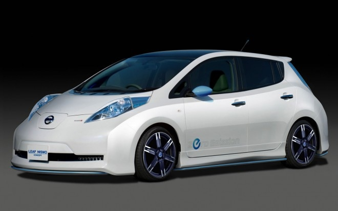 2011 Nissan Leaf Nismo Concept Front Three Quarter1 660x413