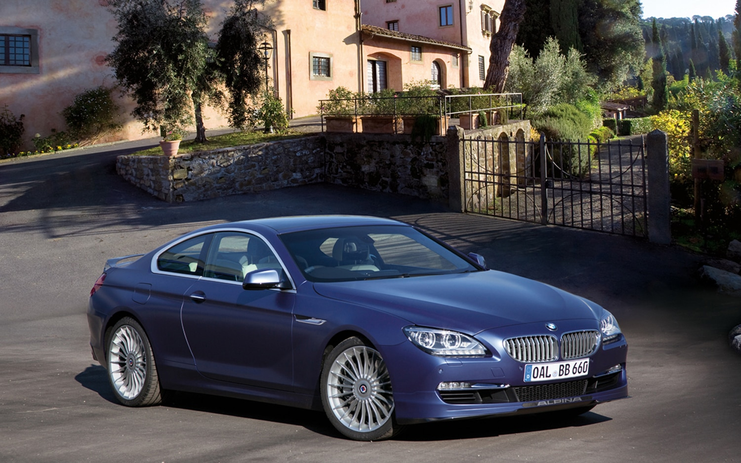2012 Alpina B6 Biturbo Front Three Quarter1