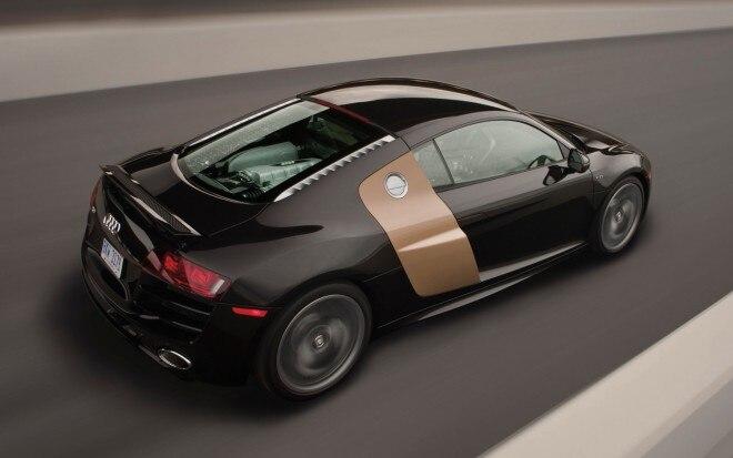 2012 Audi R8 52 FSI Rear Three Quarter1 660x413
