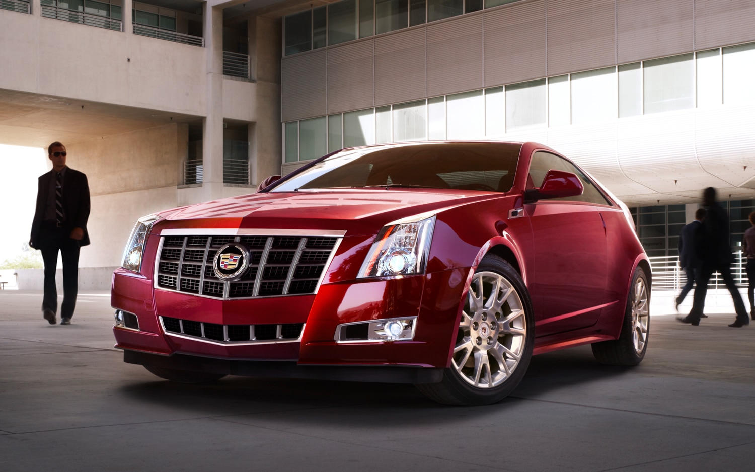 2012 Cadillac CTS Coupe Touring Package Front Three Quarter1