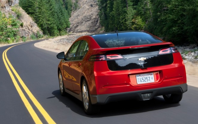 2012 Chevrolet Volt Rear1 660x413