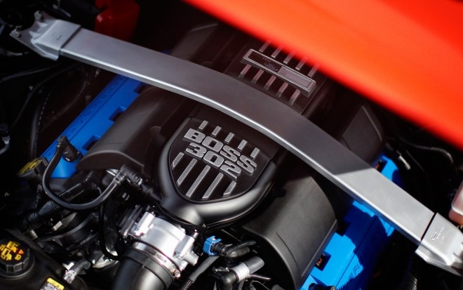 2012 Ford Mustang Boss 302 Engine1 660x413