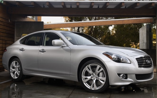 2012 Infiniti M37 Front Three Quarter1 660x413