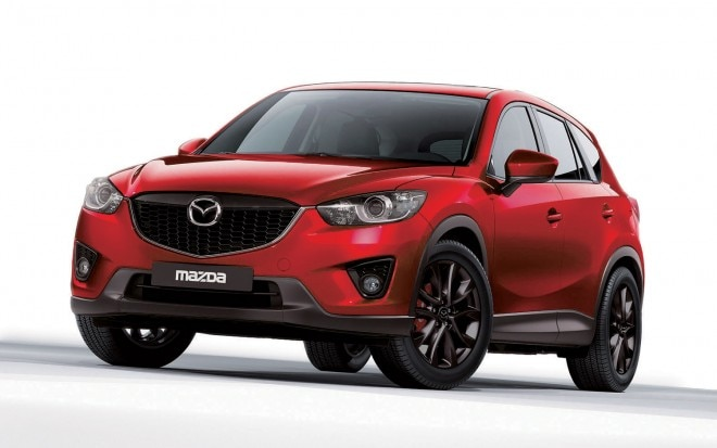 2012 Mazda CX 5 Custom Front Three Quarter1 660x413