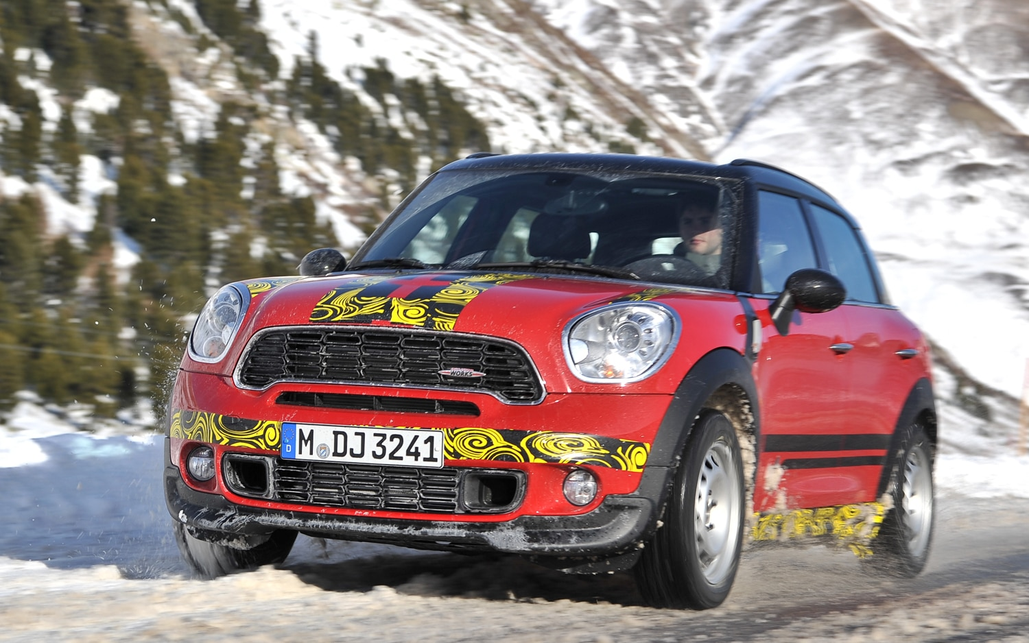 2012 Mini JCW Countryman All4 Prototype Front Three Quarters