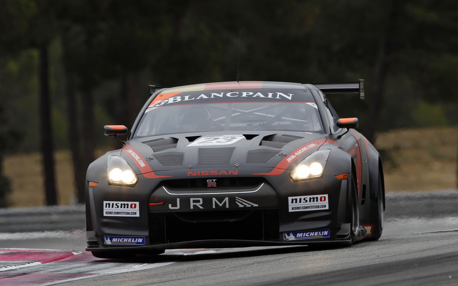 2012 Nissan GT R GT1 Front View1