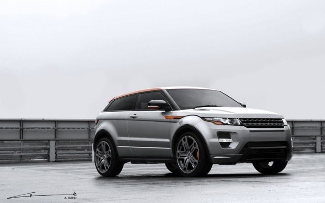 2012 Range Rover Evoque Project Kahn Front Three Quarter1 660x413