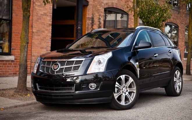 2012 Cadillac SRX AWD Premium Collection Front Left View1 660x413