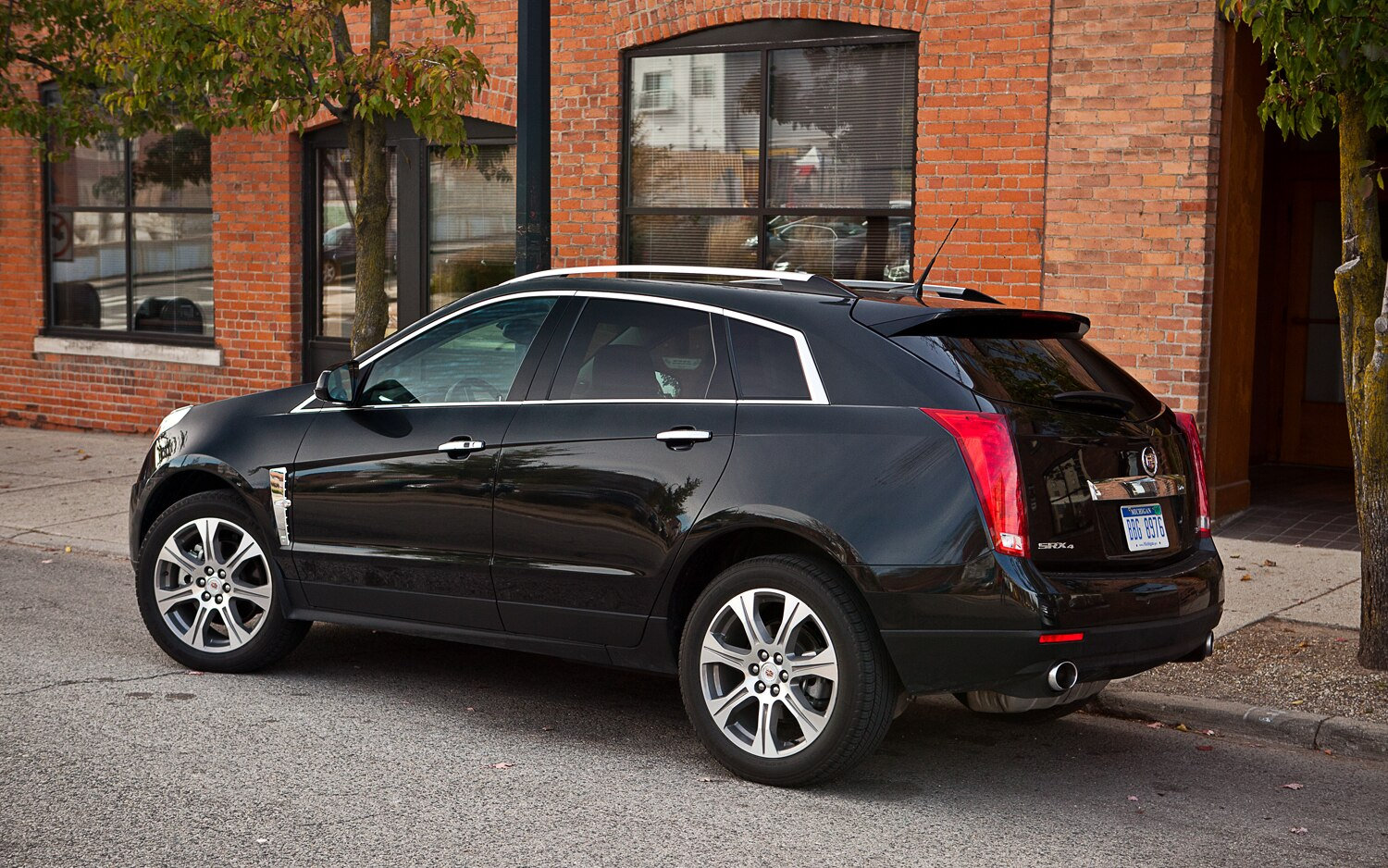 Two things really stood out to me about the cadillac srx