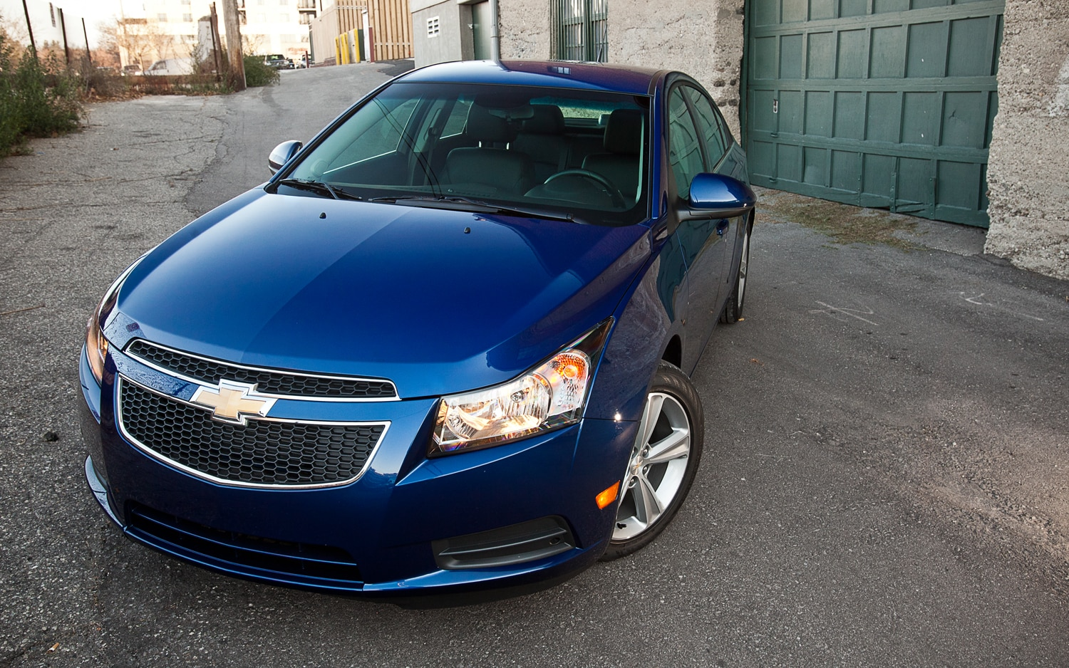 2012 Chevrolet Cruze 2lt Editors Notebook Automobile