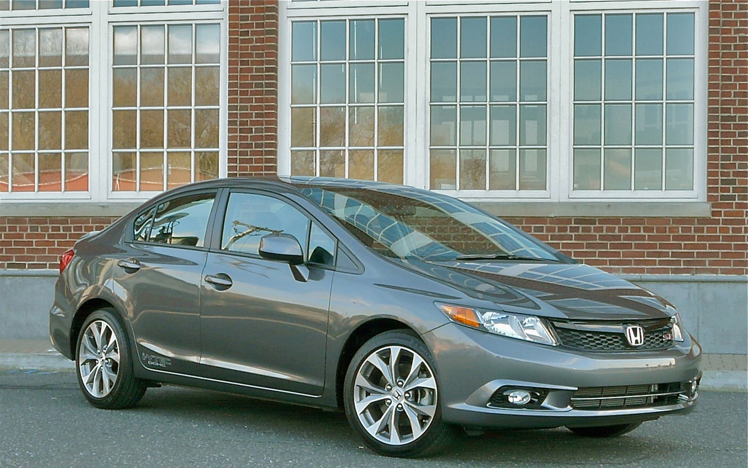 2012 Honda Civic Si Front Right Side View1