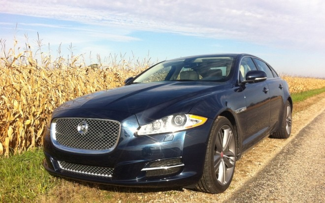 2012 Jaguar XJL Supersport Front Left View1 660x413