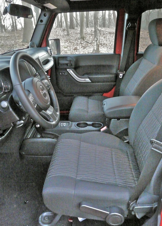 Driven 2012 jeep wrangler rubicon automobile magazine - 2012 jeep wrangler unlimited interior ...
