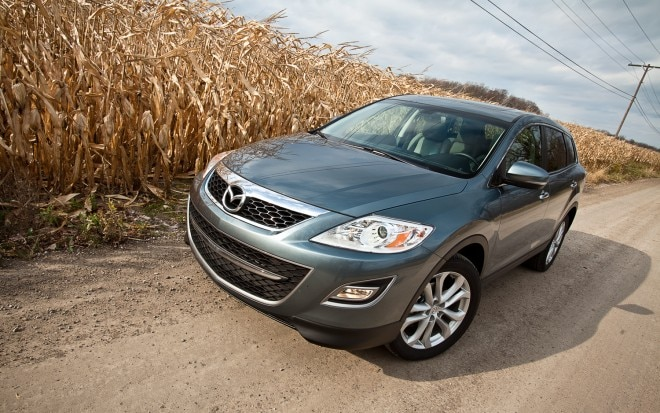 2012 Mazda CX 9 GT AWD Front Left View1 660x413