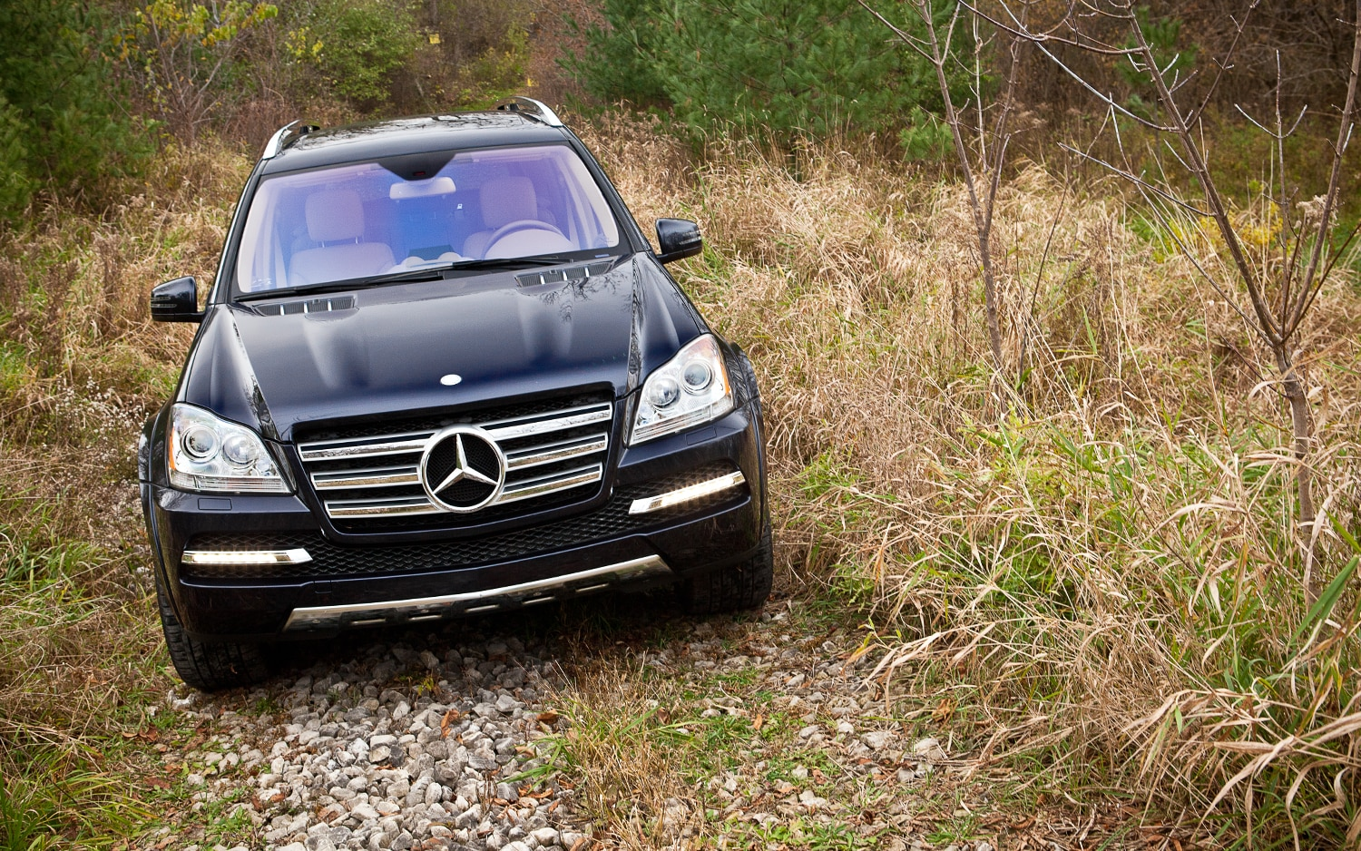 2012 Mercedes Benz GL550 4Matic Front View1