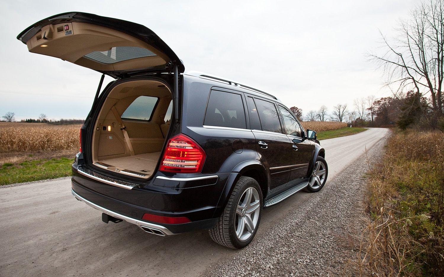 2012 mercedes benz gl550 4matic editors 39 notebook for How to open the trunk of a mercedes benz e320