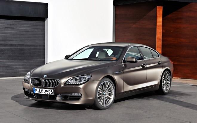 2013 BMW 6 Series Gran Coupe Front Three Quarter1 660x413