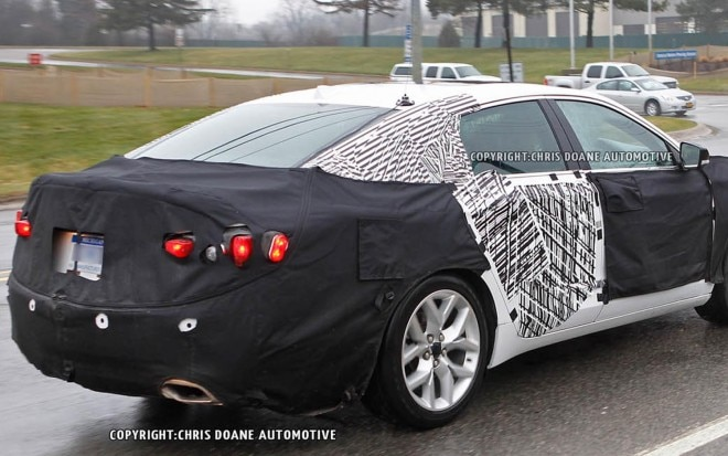 2013 Chevrolet Impala Spied Rear Three Quarter AMAG1 660x413