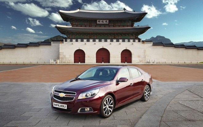 2013 Chevrolet Malibu China Front Three Quarter1 660x413