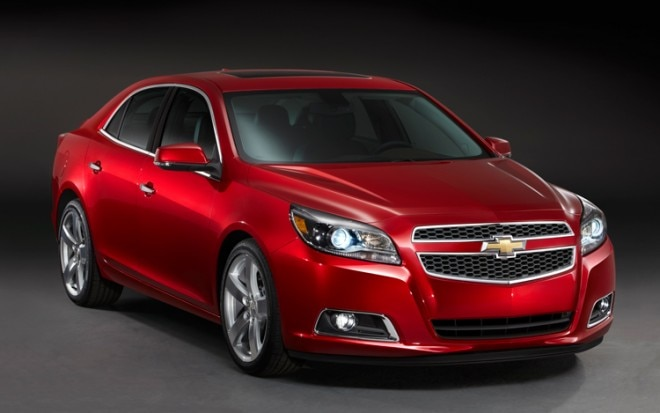 2013 Chevrolet Malibu LTZ Front Three Quarter1 660x413