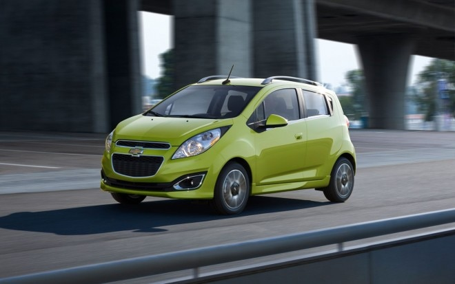 2013 Chevrolet Spark Front Three Quarter In Motion 21 660x413