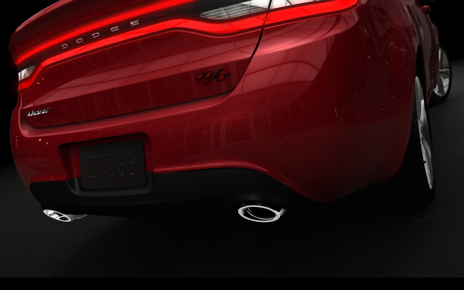 2013 Dodge Dart Rear2