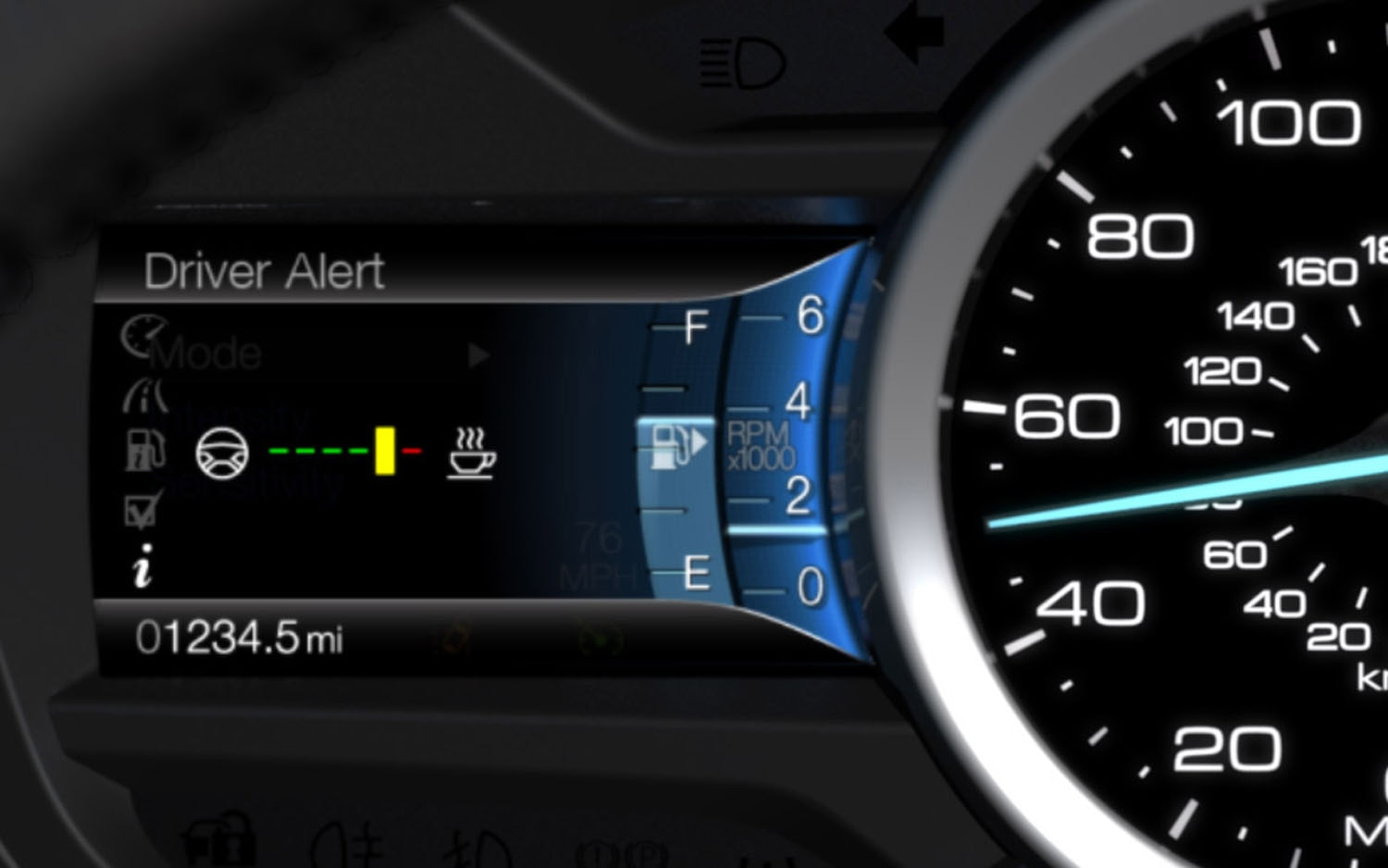 2013 Ford Fusion Driver Alert1