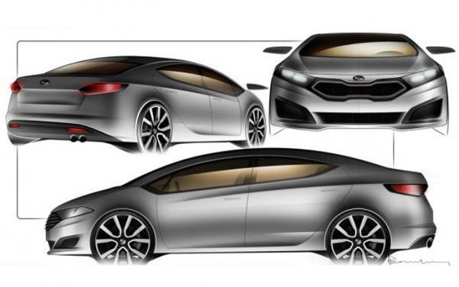 2013 Kia Forte Leaked Sketches1 660x413