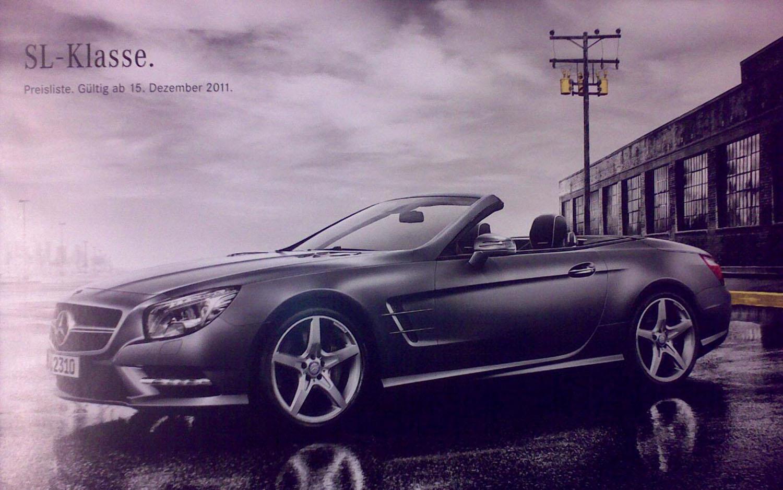 2013 Mercedes Benz SL Front Three Quarter Leak1