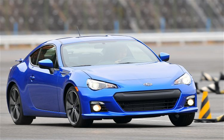 2013 Subaru BRZ Front Three Quarters On Track