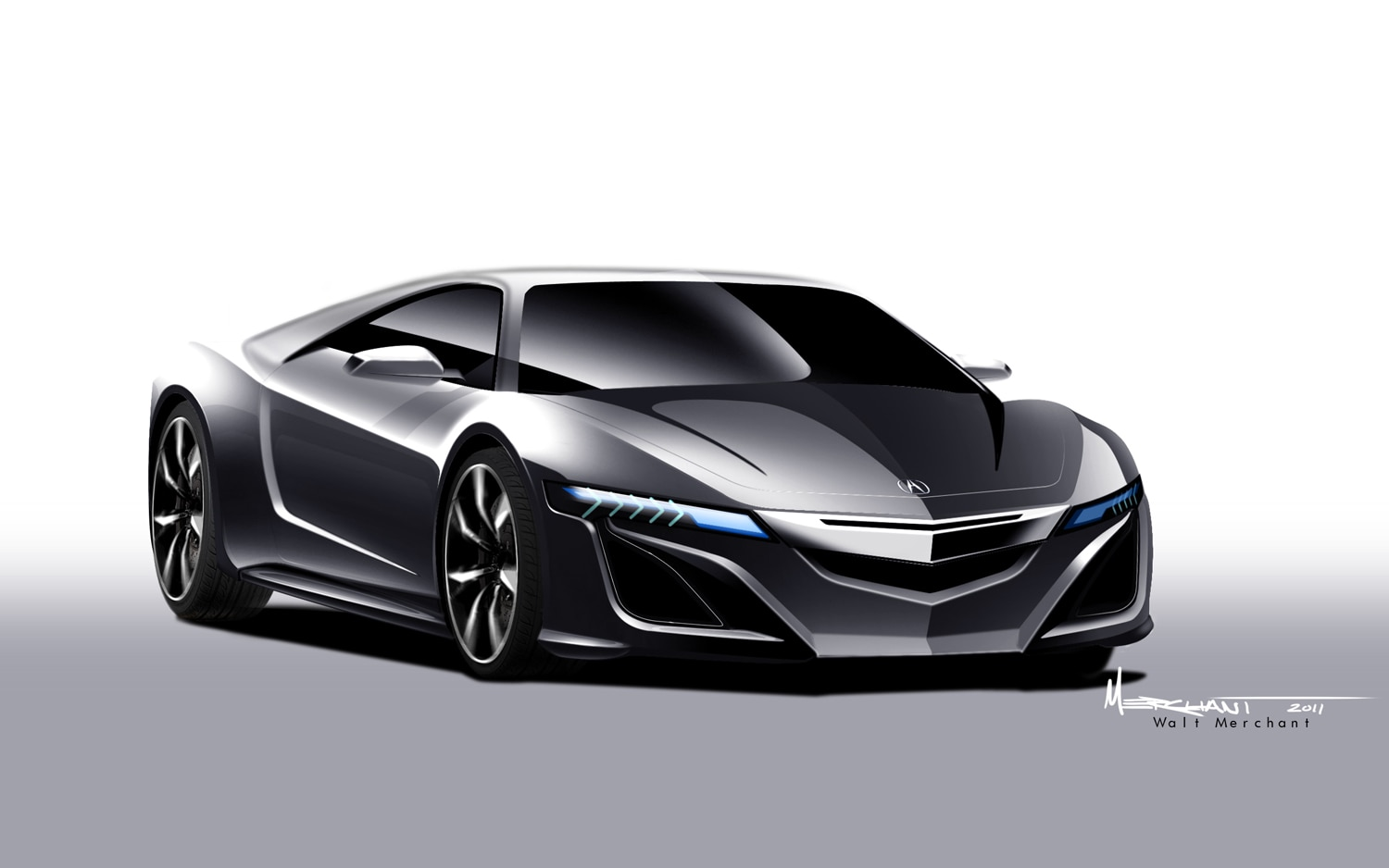 report new acura nsx to have 400 hp roadster version. Black Bedroom Furniture Sets. Home Design Ideas