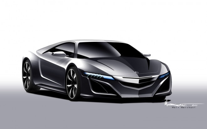 Acura NSX Concept Rendering1 660x413