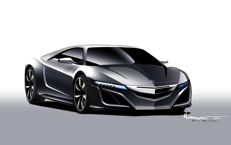 Acura NSX Concept Rendering1