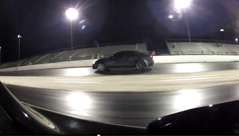 Cadillac CTS V Vs Nissan GT R 21
