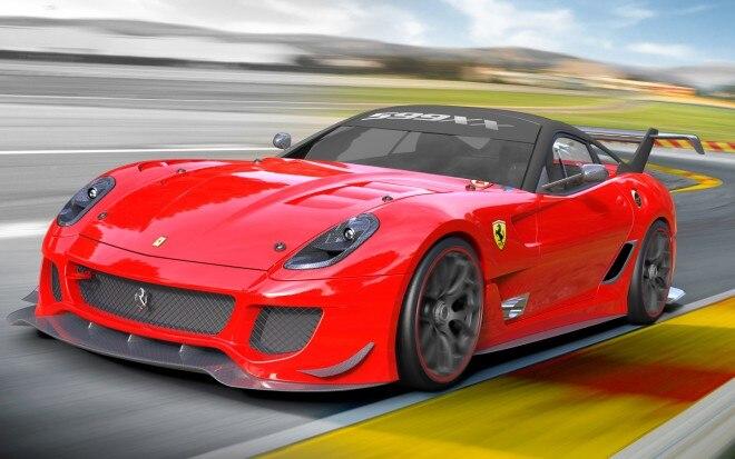 Ferrari 599XX Evoluzione Front Three Quarter1 660x413