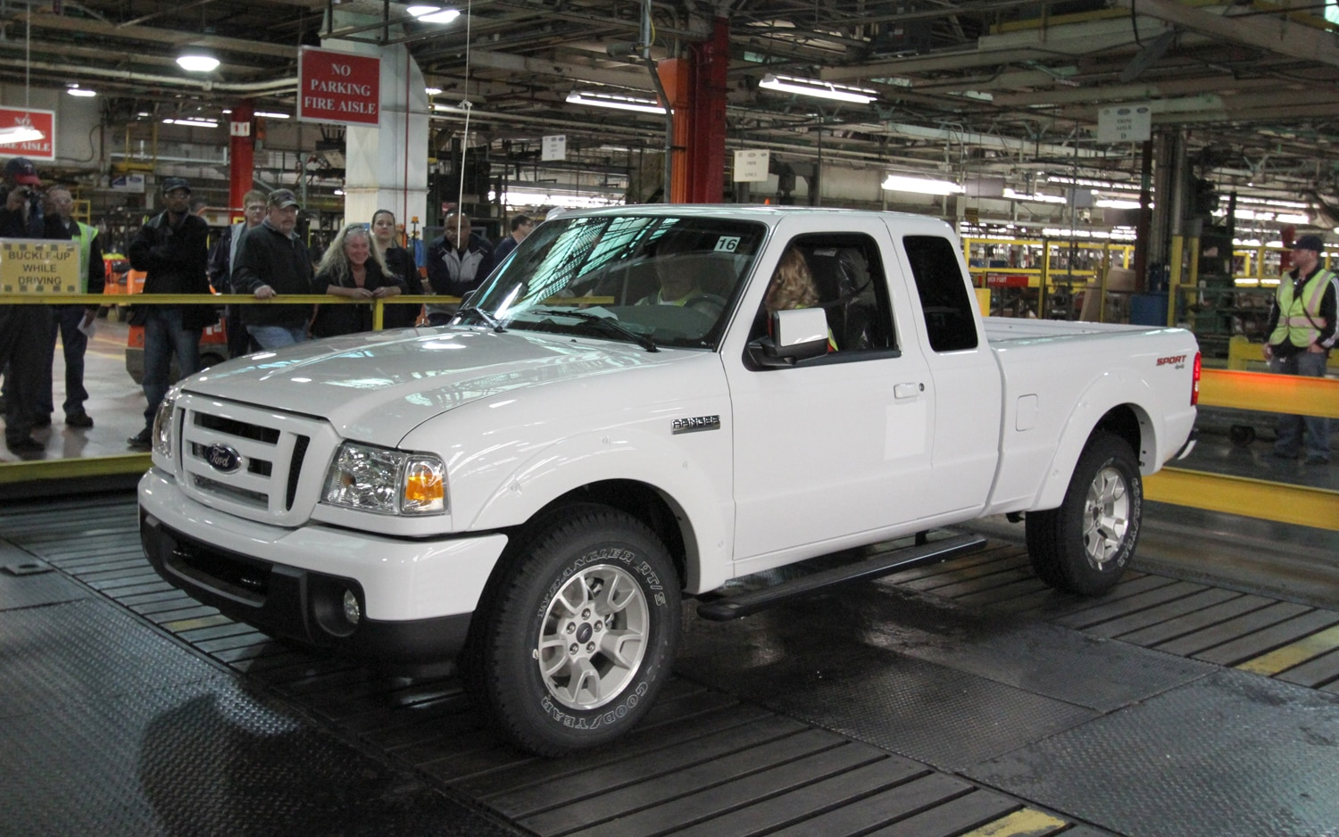 Final Ford Ranger Front Three Quarter1
