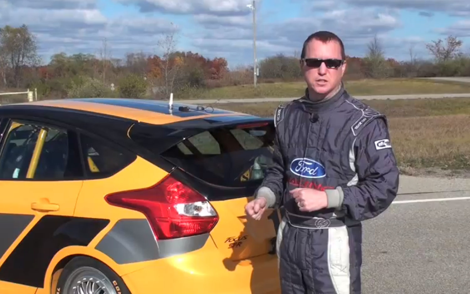 Ford Racing Andy Vrenko With Focus ST R 21