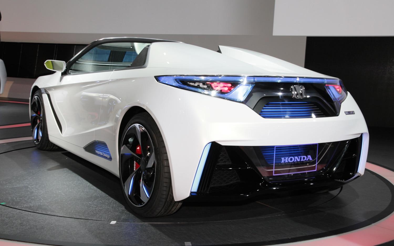 Honda Small Sports EV Concept Rear Three Quarter AMAG