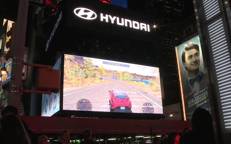 Hyundai Race Times Square 21